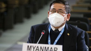 تصویر بیانیه حقوق بشری سازمان ملل درباره میانمار صادر شد