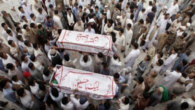 تصویر شیعیان هزاره هدف اصلی گروههای افراطگرا در پاکستان و افغانستان هستند