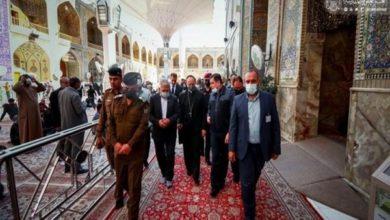 تصویر ورود یک هیئت از واتیکان به عراق برای زمینه سازی سفر پاپ