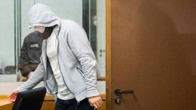 تصویر محاکمه سرکرده داعش در آلمان