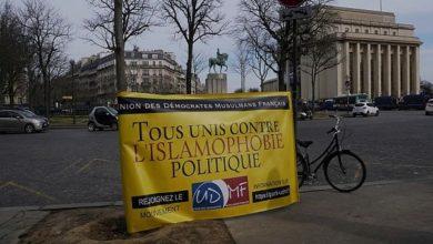 تصویر تأیید لایحه محدودکننده فعالیتهای اسلامی در مجلس فرانسه