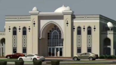 تصویر ساخت یکی از بزرگ ترین مساجد جهان در آمریکا
