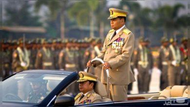 تصویر محکومیت کودتای میانمار توسط رهبر مسلمانان روهینگیا