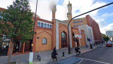 تصویر بازگشایی بزرگ ترین مسجد لندن
