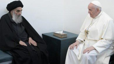 تصویر پاپ دیدارش با آیت الله العظمی سیستانی را فراموش نشدنی توصیف کرد
