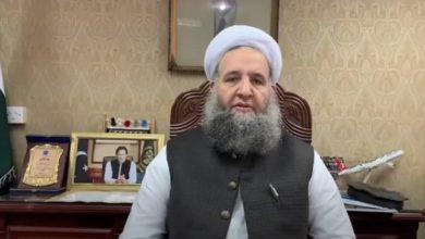 تصویر سفر وزیر امور دینی پاکستان به کربلا و نجف
