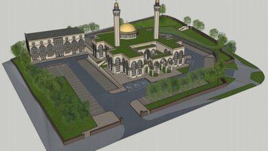 تصویر حمایت از ساخت مسجد براداران عیسی در شورای شهر «بلک برن»