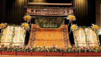تصویر هدیه شش کیلو طلا و ساخت درب ورودی حرم سامرا