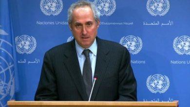 تصویر ابراز نگرانی سازمان ملل در خصوص حملات یمن به عربستان