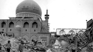 تصویر سالگرد حمله توپخانه ای روس ها به حرم امام رضا علیه السلام