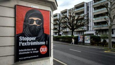 تصویر رای گیری از سوئیسی ها برای طرح ممنوعیت برقع