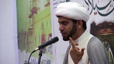 تصویر محاکمه ضارب روحانی شیعه در زندان های بحرین