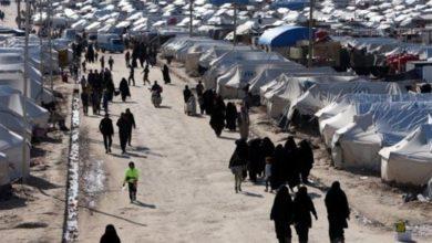 تصویر اردوگاهی که بزرگ ترین تجمع داعش و تهدیدی برای منطقه است