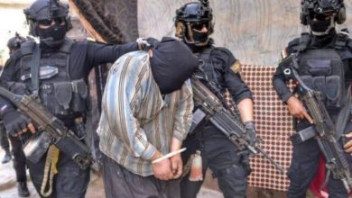 تصویر بازداشت یکی از سرکردگان اصلی داعش در عراق