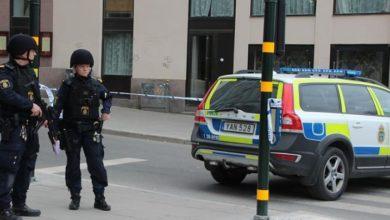 تصویر آتش زدن مدرسه ویژه مسلمانان در سوئد