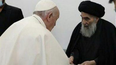 تصویر جزئیاتی اعلام نشده از دیدار پاپ و آیتالله العظمی سیستانی