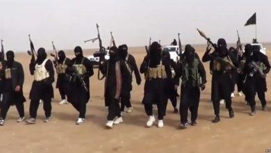 تصویر ربودن 9 غیر نظامی عراقی توسط سنی های تندروی داعشی