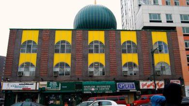 """تصویر پس از ۳۰ سال اولین مسجد در """"تامپکینزِ"""" نیویورک افتتاح شد"""