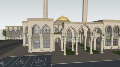 تصویر جمع آوری ۱۰۰ هزار پوند برای ساخت مسجد در انگلستان