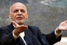 تصویر اشرف غنی خطاب به طالبان: به جای مین، گل و گندم بکارید