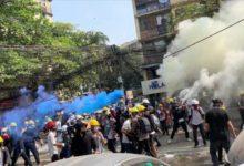 تصویر قربانیان اعتراض های میانمار از 700 نفر گذشت