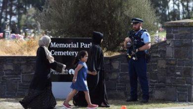 تصویر حمله به قبرستان مسلمانان در شهر مالموی سوئد