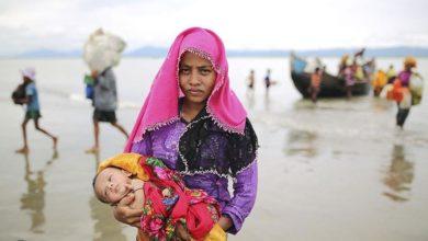 تصویر احتمال دیپورت مسلمانان روهینگیا از هند به میانمار