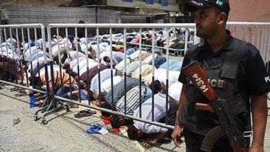 تصویر تامین امنیت مساجد لاهور در ماه رمضان با استقرار پنج هزار نیروی پلیس