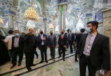 تصویر سفیر دانمارک در عراق: حرم مقدس امام علی علیه السلام از اهمیت تاریخی برخوردار است