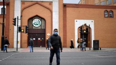 تصویر کاهش محدودیتهای کرونایی و بازگشایی مساجد انگلیس در آستانه ماه رمضان