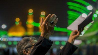 تصویر حضور میلیونی شیعیان در حرم های مطهر در شب قدر سوم