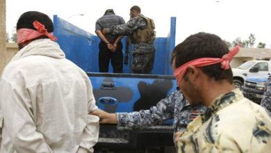 تصویر دستگیری یک عنصر مهم داعش از سوی نیروهای مسلح عراق