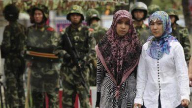تصویر سیاست چین برای کاهش زاد و ولد در میان مسلمانان اویغور