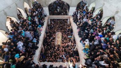 تصویر برگزاری عزاداری ویژه شیعیان در مومبی هندوستان