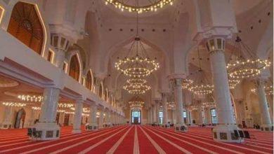 تصویر برگزاری نماز عید سعید فطر در هزار مسجد قطر با رعایت پروتکل های بهداشتی