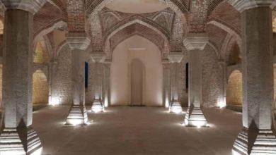 تصویر سنگ بنای مسجد جدید «شوشا» در آذربایجان گذاشته شد