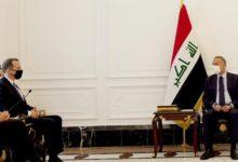 تصویر رایزنی الکاظمی با هیأت آمریکایی درباره خروج از عراق