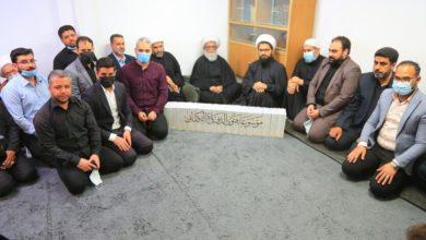 تصویر آیت الله العظمی بشیر نجفی: شهدا اسلام را حفظ کردند و جهاد آنها یاری دین خداست