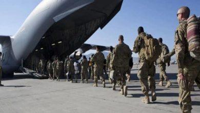 تصویر آغاز رسمی خروج نیروهای آمریکایی از افغانستان
