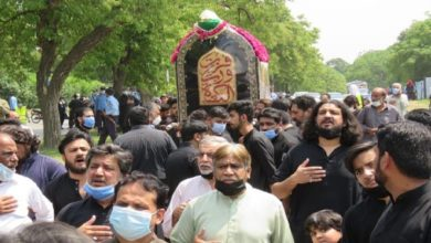 """تصویر از برگزاری آیینهای مذهبی """"یوم علی"""" در پاکستان تا بازداشت ۳ تروریست داعشی در ایالت سند این کشور"""
