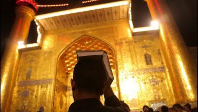 تصویر شب قدر و حضور شیعیان در حرم های اهل بیت علیهم السلام