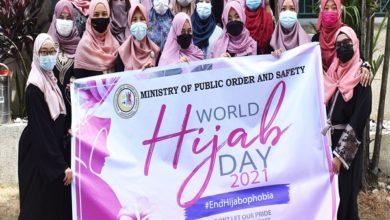تصویر حمایت از تعیین روز ملی حجاب در فیلیپین