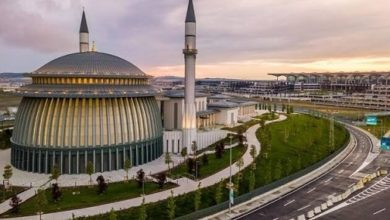 تصویر اولین مسجد جهان برنده گواهینامه بین المللی محیط زیست