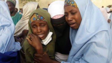 تصویر ربودن بیش از ۸۰ دانش آموز مسلمان نیجریه ای