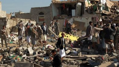 تصویر شهادت و مجروح شدن 20 یمنی در حملات عربستان سعودی