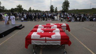 تصویر عامل قتل خانواده مسلمان کانادایی به تروریسم متهم شد