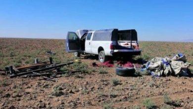 تصویر خنثی سازی حمله راکتی داعش به استان های نینوا و کرکوک در شمال عراق