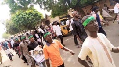 تصویر تظاهرات در نیجریه برای آزادی شیخ زکزاکی
