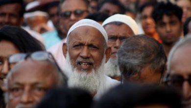 تصویر نارضایتی هندی ها از نژادپرستی حکومت علیه مسلمانان این کشور