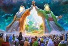 تصویر شادی و سرور شیعیان جهان به مناسبت عید غدیر
